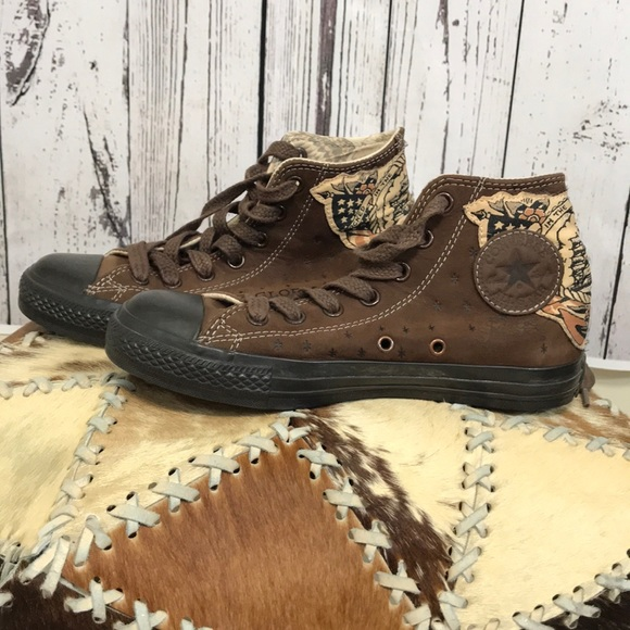 190d113b116100 Converse Shoes - Converse rare Sailor Jerry high top sneakers
